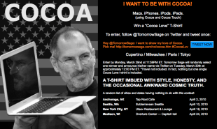 I Want to be with Cocoa Contest