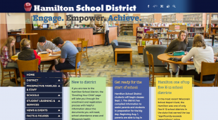 Hamilton School District Website